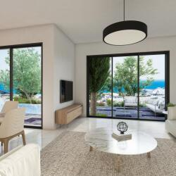 Lounge Interior Area With Sea View