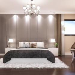 Paniotis Mansion Bedroom Full View