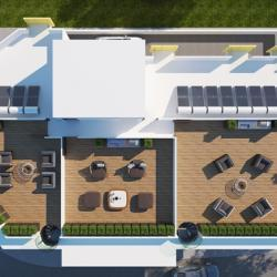 04 St Chara Orfeas Apartments For Sale Aglantzia Roofgarden